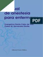 Manual de Anestesia Para Enfermeros