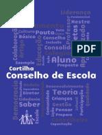 Cartilha - Conselho de Escola