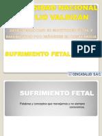 7.- Sufrimiento Fetal Agudo