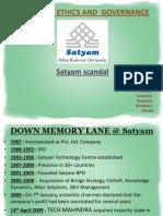 Satyam Scam