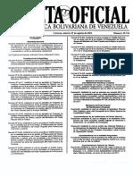 Gaceta 39471 Ley Organica Del Deporte