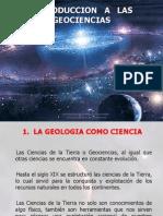 INTRODUCCION   A   LAS GEOCIENCIAS 1.ppt