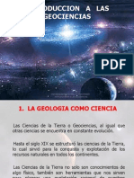 INTRODUCCION   A   LAS GEOCIENCIAS 1.ppt