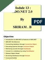Module 13 - ADO.NET