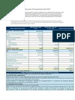 Ejecución Presupuestaria Año 2014 ACTUALIZADO