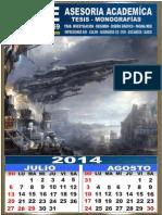 Calendario 2014 Mike 2