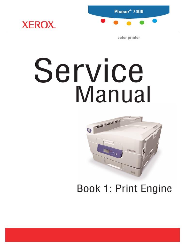 Error Codes > Xerox > Phaser 7400 > Code 940