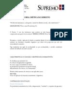 Teoria+Critica+do+Direito+-+Prof.+Gustavo+Mello