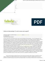 Cahiers de Narratologie_ 15 Decembrie 2014