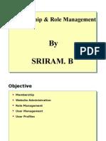 Membership & Role Management