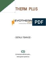 Evotherm Plus Detaliitehnice