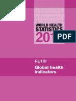 WORLD GLOBAL HEALTH INDICATORS