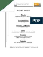 Proceso de Fundicion en Materiales