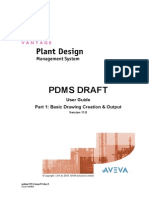 PDMS Draft Part 1 Basic Drawing Creation & Output