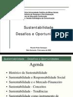 Palestra Sustentabilidade IEC 2009