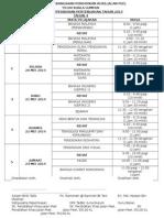 Jadual Peperiksaan Pertengahan Tahun 2014 Tahun 4