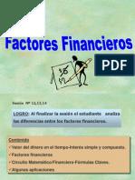 FACTORES FINANCIEROS