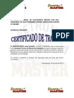 Certificado de trabajo de Electronica Master.pdf