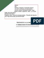 Transito a La Modernidad y Derechos Fundamentales- Peces Barba