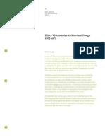 Ethics vs Aesthetics Architectural Design 1965-1972 Steve Parnell
