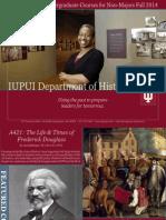 IUPUI History Courses Fall 2014