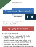 Pemrograman Microcontroller