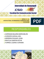 Areas Protegidas ECUADOR