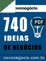 740 Ideias de Negocios