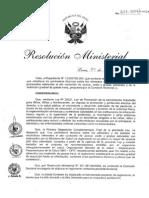 RM. 321-2014-MINSA - PUBLICA PROYECTO DE REGLAMENTO DE LA LEY Nº 30021, LEY DE PROMOCIÓN DE LA ALIMENTACIÓN SALUDABLE.pdf