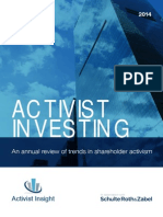 Activist Insight - Activist Investing Annual Review 2014