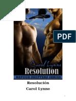 Carol Lynne - Serie Lobos (Refugio) 04 - Resolución
