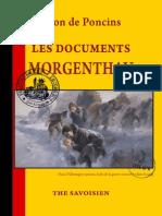 Poncins Léon de - Les Documents Morgenthau