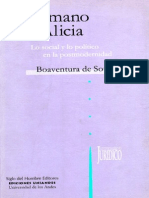De Sousa, Boaventura - De La Mano de Alicia