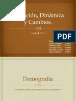 Población, Dinámica y Cambios
