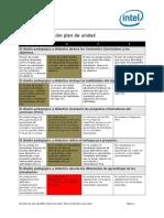 matriz valoracion plan de unidad de pm