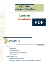 lecture1 Introduction to computer graphics