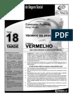 Prova Tecnico2008 Cargo18 Caderno Vermelho