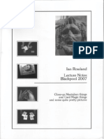 Ian Rowland - Lecture Notes (Blackpool 2007)