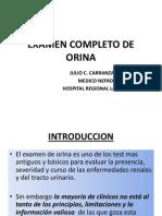 1.Examen Completo de Orina Usmp