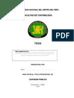 ESQUEMA de Inf. de Tesis
