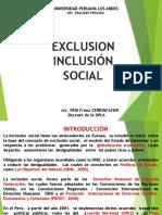Exclusion Inclusion Social
