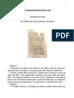 Evangelhos Apócrifos - Testamento de Judá.doc