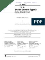 MOTOROLA MOBILITY LLC v. AU OPTRONICS CORPORATION En Banc Petition