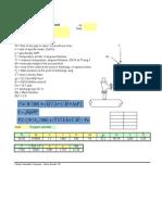 CASTI Relief Valve Thrust Force Calculation