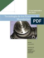 TAREA 1 Tecnología de Los Procesos de Manufactura