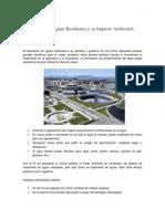 Tratamiento de Aguas Residuales y Su Impacto Ambiental