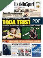 La Gazzetta Dello Sport - 09.07.2014