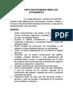 REGLAMENTO DISCIPLINARIO PARA LOS ESTUDIANTES.docx
