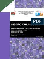 Documento Curricular Ed Artistica