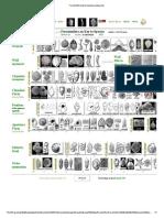 Foraminifera Key to Species Pictograms